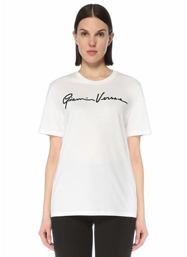 Versace Polo Yaka T-shirt Beyaz